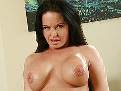 naked blondes, Anilos.com gets to know milf babe maya divine