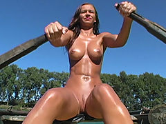 Outdoors Vids: Hot Babes in Action
