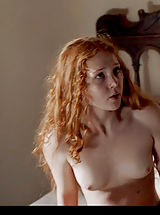 Nipple and Areola, This redheaded Borgia star can certainly make you engorgia-d!