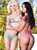 naked latina, HardX - Elsa Jean and Markus Dupree and Gina Valentina