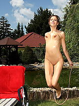 eufrat 05 garden clit bouncing boobs
