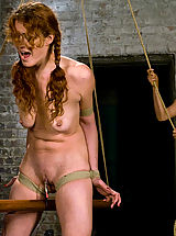 Fetish Nippels, Donna shocks, tortures and fists willing submissive Sabrina