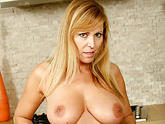 Teen Puffy Nipples, Nicole Moore eagerly shows off her superb oral talents on an innocent dildo