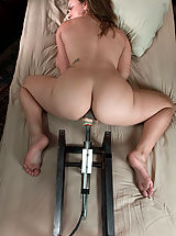 Girlfriends Nippels, Young hot blonde gets railed in her tight pussy by fast machines.