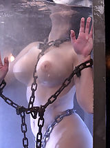 Naked Fetish, Aria Giovanni gets the Waterbondage treatment!