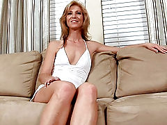 Milf Vids: Classy milf Dee Dee spills all during her interview with Anilos.com