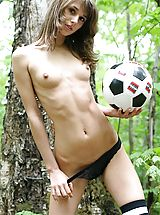 Outdoors Pics: Horny soccer player