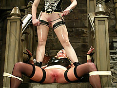Fetish Vids: Clair Adams unleashes her wrath on the sumptuous Vendetta