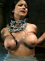 Fetish Nippels, Sexy Nadia Styles gets the Waterbondage Treatment!