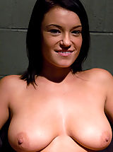 Kink Nippels, Devi Emerson plays a bitchy inmate in need of serious correction