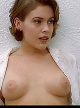 Big Areolas Pics, Alyssa Milano's tits are the employer!