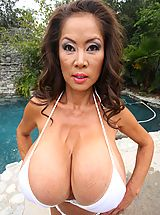 Bikini Wax, Tremendous Big Breasts of Minka