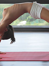 Puffy Nipples Pics, Watch sexy cutie Caprice do yoga in the nude X-Art style!