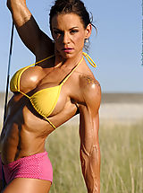 Stephanie Erickson Lollipop and Muscles