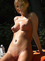 Naked Nipples, faye reagan 02 puffy nipples forest