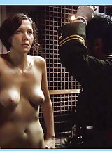 Pillow Biter, Maggie Gyllenhaal reveals bush and perky breasts while seducing the lady man