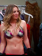 Celebrity Nippels, Kaley Cuoco