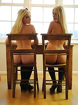 Ass Nippels, Student Faye Tasker and Stevie-Louise Ritchie