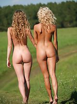 big ass, Femjoy - Nicolle, Anju in Going For A Walk