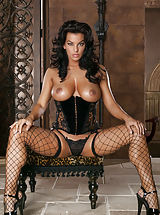 Nancy Erminia, Tight Black Stockings