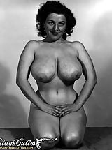 Very large Nipples, Vintage Porn at its best from Vintage Cuties