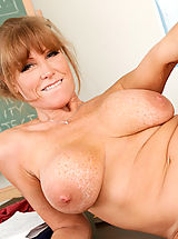 Nipples, Darla Crane,My First Sex Teacher,David Loso, Darla Crane, Teacher, Chair, Classroom, Desk, Massive Breasts, Blonde, Blow Job, Dominant, Facial, Fake Tits, Mature, MILFs, Shaved, Tattoos, Titty Fucking,