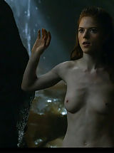 Naked Celebrity, Rose Leslie