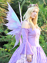 Fantasy Pics: Danielle in a fairy suit