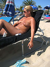 After I Go To Naturist Beaches and Shoot These Hot Nude Women I Always Go Somewhere to Wank a Couple Times