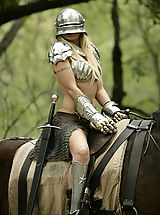 WoW nude monica forest picnic knight