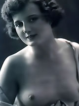 naked boobs, Full Frontal Female Nudity Photos in 1910s Photographers could Take Pics of Only in France - Retro Erotica at its Best