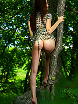 2011 nude art experiece amelie the emerald forest