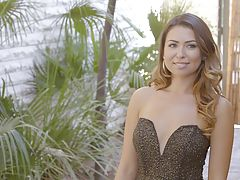 naked girls, Melissa Moore has arrived for her date with Jillian Janson and Ryan Driller.