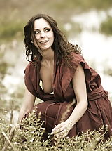 Vintage Clothing, WoW nude winter medieval farmers daughters