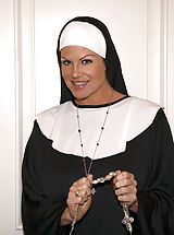 Retro Vintage, Kelly the nun takes father Ryans virginity.
