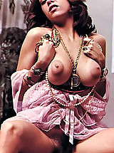 Retro Clothing, Real Antique Naked Women With Sweet Lusty Puffy Nipples In Hot Vintage Photos