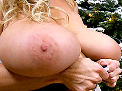 Big.Tits Vids: X-Mas Breast Appreciation 7 #2