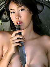 Asian Nippels, Asian Women irene fah a4y 01 army knife toy fucking