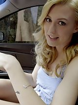 Naked Teens, Alexa Grace gets her stepbrother to help her out by sucking his cock and giving him a stiffie ride in her bald twat