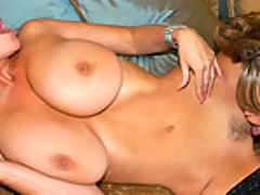 Big.Tits Vids: Brandy Talore and Kelly play with their big ass naturals and satisfy their pussy desires.