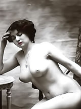naked pictures, Retro Style Erotica