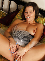 Dark Nipples, Naughty 32+ Mom shows her good trained fotze Beautiful French Maid Jamie Ray
