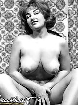 Naked Hairy, Vintage Porn at its best from Vintage Cuties