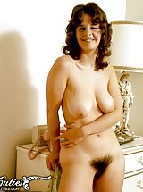 Hairy Nippels, Vintage Porn at its best from Vintage Cuties