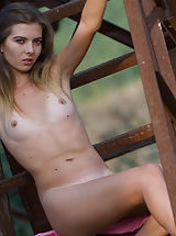 [Spintax1], Charming girl with a tasty petite body poses naked showing her passionate and wild side.
