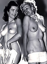 naked mature, Retro Style Porn