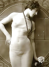 Forgotten European Bare Photography from 1850 to 1920 Presenting Lewd Naked Girls Posing On VintageCuties.com